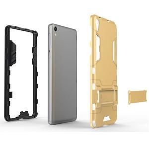 Outdoor odolný obal na mobil Sony Xperia E5 - světlemodrý - 4
