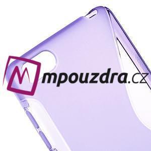 S-line gelový obal na mobil Xiaomi Mi4c/Mi4i - fialový - 4