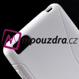 S-line gelový obal na mobil Xiaomi Mi4c/Mi4i - bílý - 4