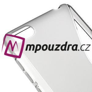 S-line gelový obal na mobil Xiaomi Mi4c/Mi4i - šedý - 4