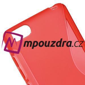 S-line gelový obal na mobil Xiaomi Mi4c/Mi4i - červený - 4