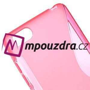 S-line gelový obal na mobil Xiaomi Mi4c/Mi4i - rose - 4