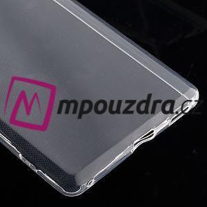 Ultratenký gelový obal na mobil Sony Xperia XA Ultra - transparentní - 4