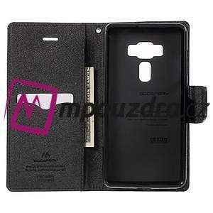 Diary PU kožené pouzdro na mobil Asus Zenfone 3 Deluxe - hnědé - 4