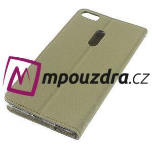 Diary peněženkové pouzdro na mobil Asus Zenfone 3 Ultra - khaki - 4