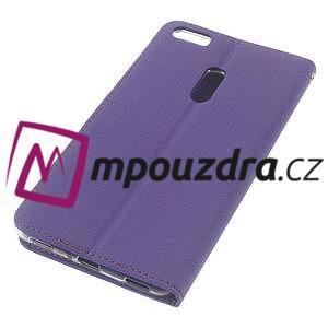 Diary peněženkové pouzdro na mobil Asus Zenfone 3 Ultra - fialové - 4
