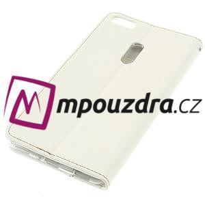 Diary peněženkové pouzdro na mobil Asus Zenfone 3 Ultra - bílé - 4