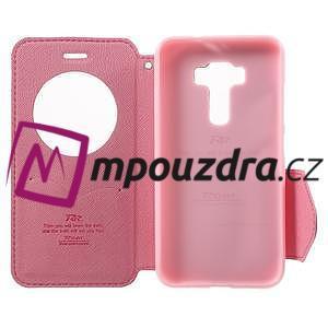 Diary pouzdro s okýnkem na mobil Asus Zenfone 3 ZE520KL - rose - 4