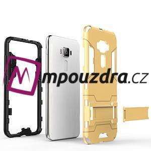 Odolný obal na mobil Asus Zenfone 3 ZE520KL - šedomodrý - 4