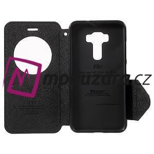 Diary pouzdro s okýnkem na mobil Asus Zenfone 3 ZE520KL - černé - 4
