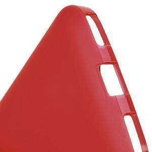 Matný gelový obal na BlackBerry Classic - červený - 4