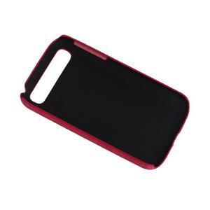 PU kožený kryt se stojánkem na BlackBerry Classic - rose - 4