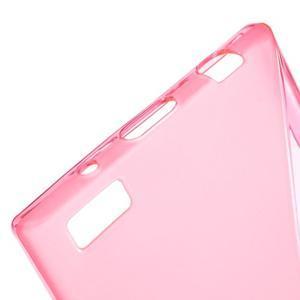 S-line gelový obal na mobil BlackBerry Leap - rose - 4