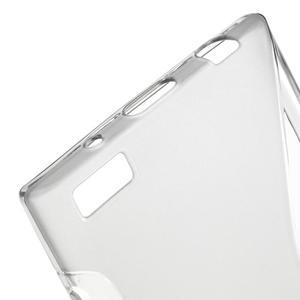 S-line gelový obal na mobil BlackBerry Leap - šedý - 4