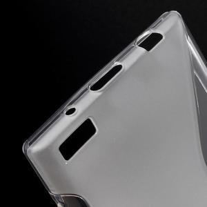 S-line gelový obal na mobil BlackBerry Leap - transparentní - 4