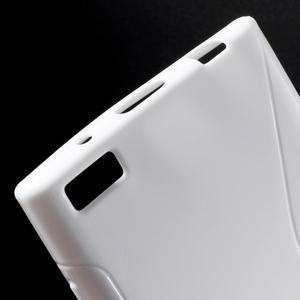 S-line gelový obal na mobil BlackBerry Leap - bílý - 4