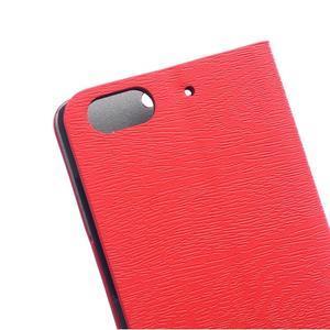 Peněženkové pouzdro na mobil Honor 4C - červené - 4