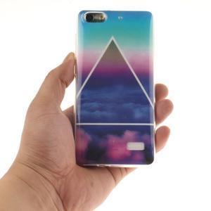 Gelový obal na mobil Honor 4C - triangl - 4