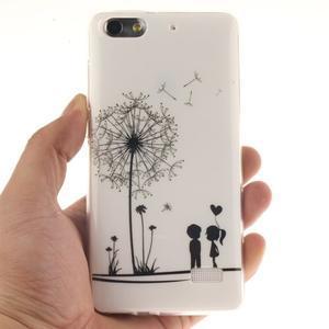 Gelový obal na mobil Honor 4C - láska - 4