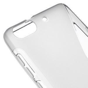 S-line gelový obal na mobil Honor 4C - šedý - 4