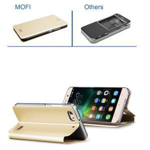 Vintage stylové pouzdro na mobil Honor 4C - zlaté - 4