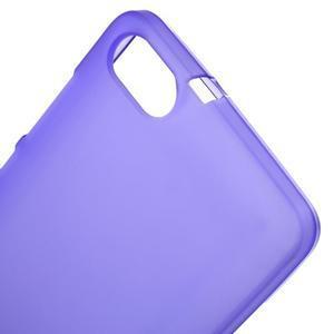 Matný gelový obal na Honor 4C - fialový - 4