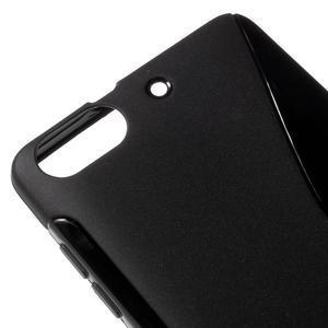 S-line gelový obal na mobil Honor 4C - černý - 4