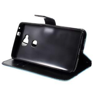 PU kožené pouzdro na mobil Honor 5X - motýl - 4