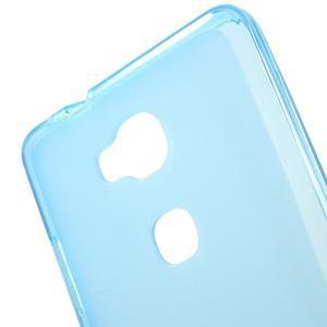 Matný gelový obal na mobil Honor 5X - modrý - 4