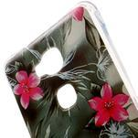 Drop gelový obal na Huawei Honor 5X - květiny - 4/5