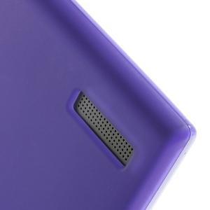 Matné gelové pouzdro na Huawei Ascend G6 - fialové - 4