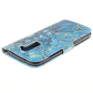 Peněženkové pouzdro na mobil LG K10 - kvetoucí strom - 4