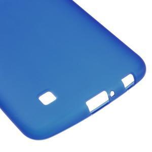 Matný gelový kryt na LG K10 - modrý - 4