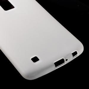 Matný gelový kryt na LG K10 - transparentní - 4