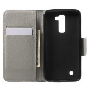 Wall peněženkové pouzdro na LG K10 - nešahat - 4