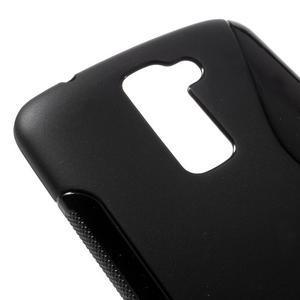 S-line gelový obal na mobil LG K10 - černý - 4