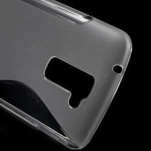 S-line gelový obal na mobil LG K10 - transparentní - 4