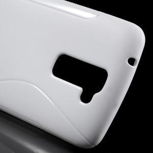 S-line gelový obal na mobil LG K10 - bílý - 4
