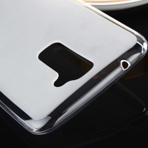 Stter matný gelový obal na mobil LG K10 - bílý - 4