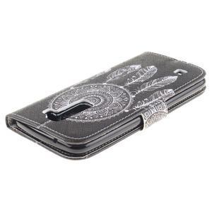 Peněženkové pouzdro na mobil LG K10 - lapač snů - 4