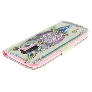 Peněženkové pouzdro na mobil LG K10 - sova - 4