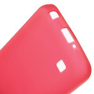 Antfing matný gelový kryt na LG K4 - červený - 4