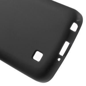 Antfing matný gelový kryt na LG K4 - černý - 4