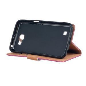 Style peněženkové pouzdro na LG K4 - koláž srdíček - 4