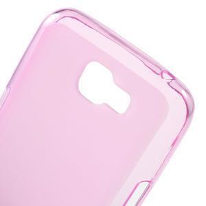 Matný gelový obal na mobil LG K4 - růžové - 4