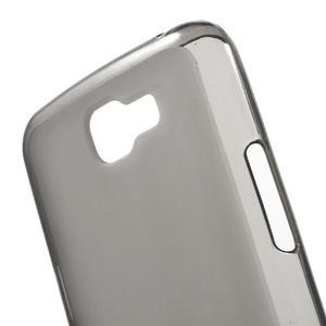 Matný gelový obal na mobil LG K4 - šedé - 4
