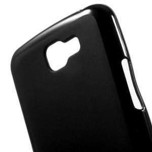 Matný gelový obal na mobil LG K4 - černé - 4