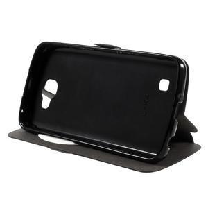 Trend pouzdro s okýnkem na mobil LG K4 - černé - 4