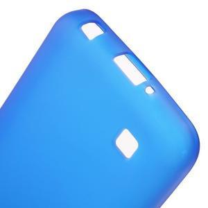 Antfing matný gelový kryt na LG K4 - modrý - 4