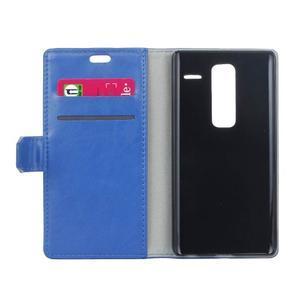 Sitt PU kožené pouzdro na mobil LG Zero - modré - 4